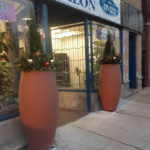 Chatham, Holiday Planter in Chicago