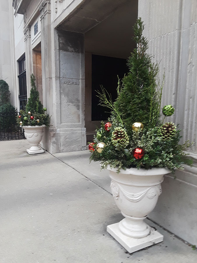 Junior Terrace, Holiday Planters