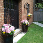 Old Irving Planters in Spring