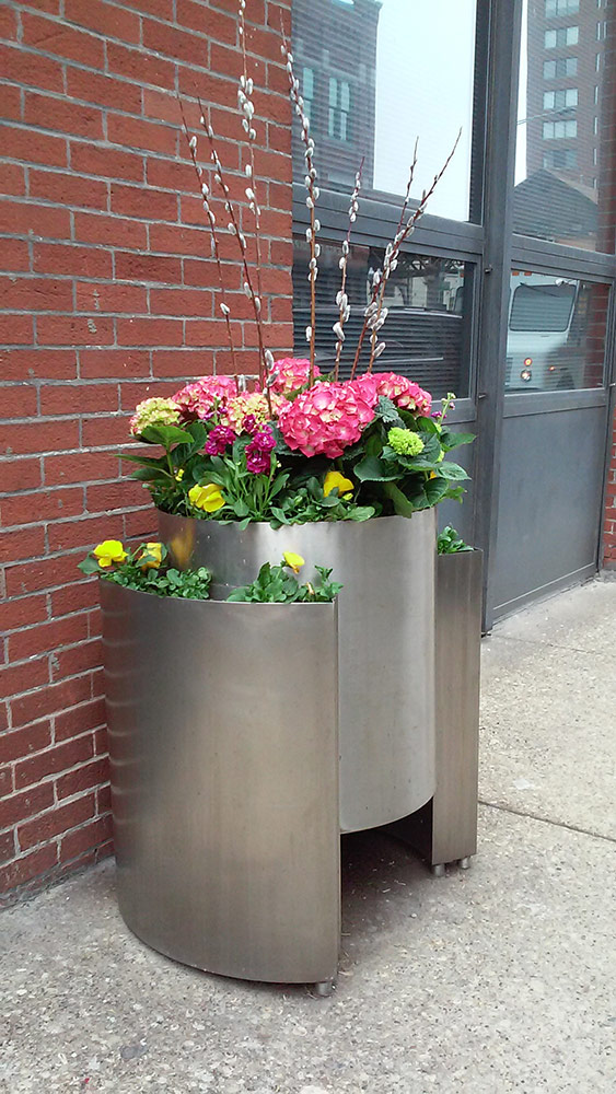 Outdoor Planter, River North Chicago