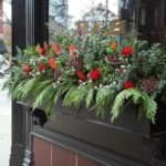 Lincoln Park Chicago windowboxes in Winter