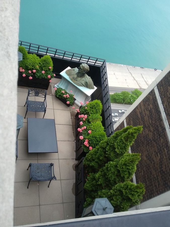 Lake Shore Drive Urban Rooftops